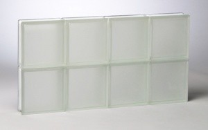 Ice Pattern Glass Block Window